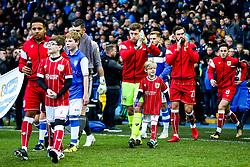 Frank Fielding of Bristol City walks out - Rogan/JMP - 18/11/2017 - Hillsborough Stadium - Sheffield, England - Sheffield Wednesday v Bristol City - Sky Bet Championship.