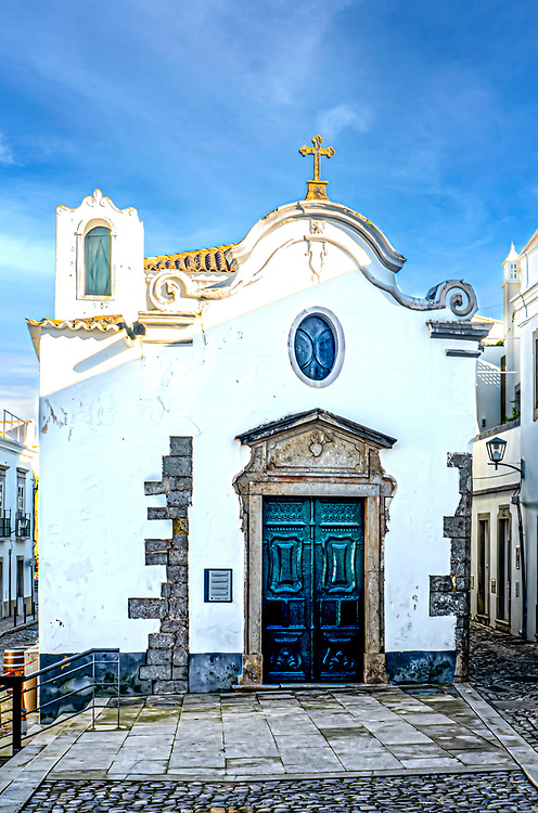 A small Chapel in the Historic Distric of Tavira, Portugal