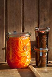 Marmalade in Weck storage jars
