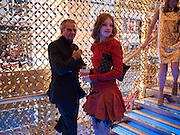 Patrick Demarchelier; Natalia Vodianova, Louis Vuitton openingof New Bond Street Maison. London. 25 May 2010. -DO NOT ARCHIVE-© Copyright Photograph by Dafydd Jones. 248 Clapham Rd. London SW9 0PZ. Tel 0207 820 0771. www.dafjones.com.