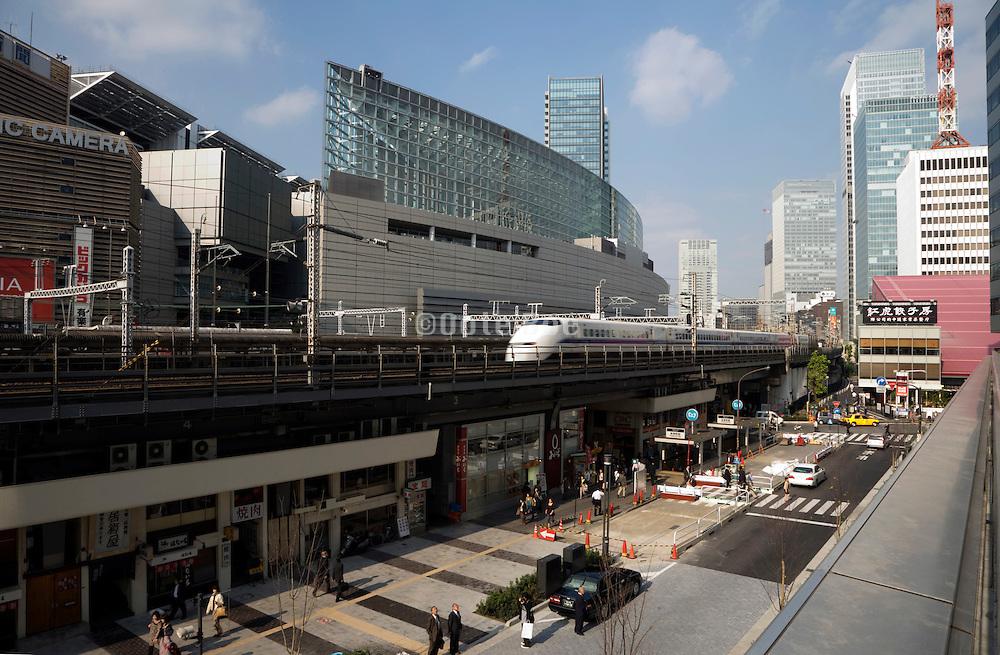 Tokyo International Forum and Yurakucho train station