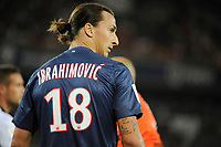 FOOTBALL - FRENCH CHAMPIONSHIP 2012/2013 - L1 - PARIS SG v FC LORIENT - 11/08/2012 - PHOTO JEAN MARIE HERVIO / REGAMEDIA / DPPI - ZLATAN IBRAHIMOVIC (PSG)