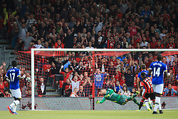 Goal, Junior Stanislas of Bournemouth scores, Bournemouth1-0 Everton - Mandatory by-line: Jason Brown/JMP - 24/09/2016 - FOOTBALL - Vitality Stadium - Bournemouth, England - AFC Bournemouth v Everton - Premier League