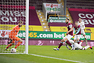 GOAL 0-1Milton Keynes Dons forward Cameron Jerome (35) score a goal  the FA Cup match between Burnley and Milton Keynes Dons at Turf Moor, Burnley, England on 9 January 2021.