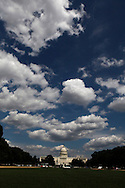 The United States Capitol on August on August 3, 2013. photograph by Dennis Brack