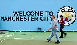Manchester City fans arrive at the Etihad Stadium - Mandatory by-line: Matt McNulty/JMP - 23/09/2017 - FOOTBALL - Etihad Stadium - Manchester, England - Manchester City v Crystal Palace - Premier League