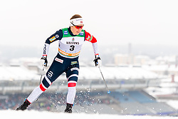 February 9, 2019 - Lahtis, FINLAND - 190209  Tiril Udnes Weng of Norway competes in the women's sprint qualification during the FIS Cross-Country World Cup on February 9, 2019 in Lahti..Photo: Johanna Lundberg / BILDBYRN / 135946 (Credit Image: © Johanna Lundberg/Bildbyran via ZUMA Press)