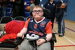 A Bristol Flyers fan - Photo mandatory by-line: Arron Gent/JMP - 28/04/2019 - BASKETBALL - Surrey Sports Park - Guildford, England - Surrey Scorchers v Bristol Flyers - British Basketball League Championship