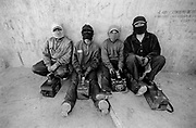 Shoe shine boys in La Paz, Bolivia, 2003