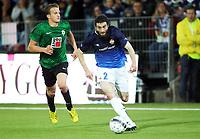 Fotball , 8. august 2013 , Europa League , Third Qual.<br /> Strømsgodset - Jablonec 1-3<br /> <br /> Mounir Hamoud , SIF  <br /> Jan Kopic , Jablonec