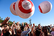 Photo of crowd atmosphere at Global Citizen Festival in Central Park, NYC on September 24, 2016. © Matthew Eisman. All Rights Reserved