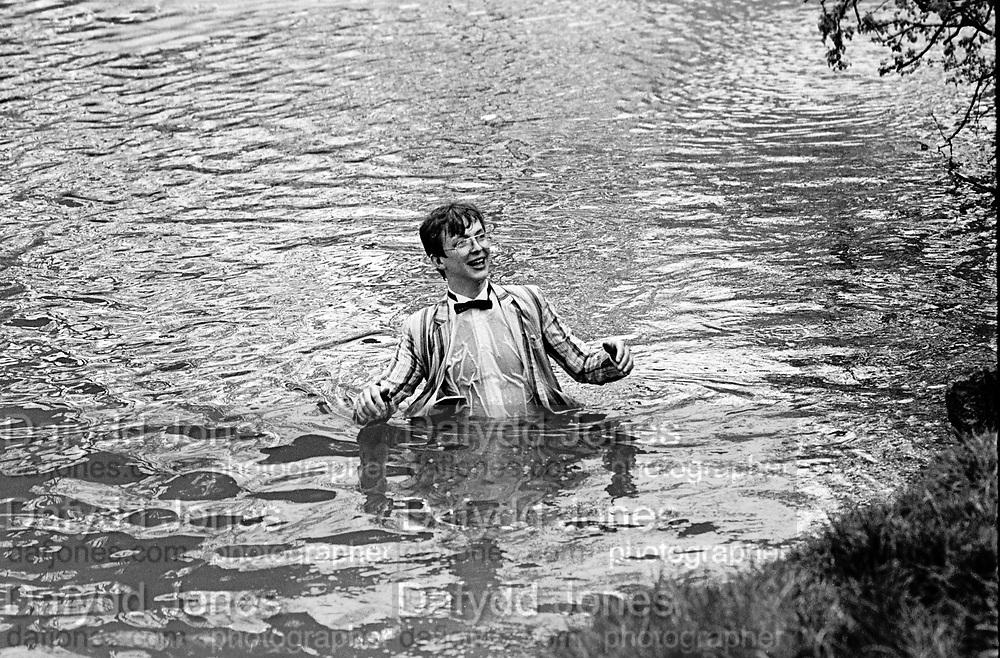 Julian Allison, May morning Oxford. 1 May 1983.