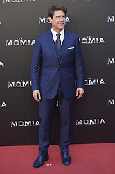 May 29, 2017 - Madrid, Madrid, Spain - Tom Cruise attended 'The Mummy' film premiere at Callao Cinema on May 29, 2017 in Madrid (Credit Image: © Jack Abuin via ZUMA Wire)