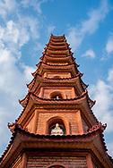 Tran Quoc Pagoda in Hanoi, Vietnam.