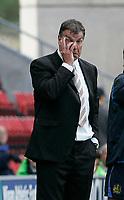 Photo: Dave Howarth.<br />Wigan Athletic v Bolton Wanderers. The Barclays Premiership. 02/10/2005. Bolton manager Sam Allardyce