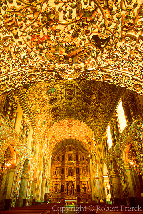 MEXICO, COLONIAL CITIES Oaxaca, Santo Domingo Church, 16thc