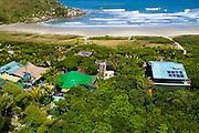 Aerial photo of Grajagan Resort, Ilha do Mel