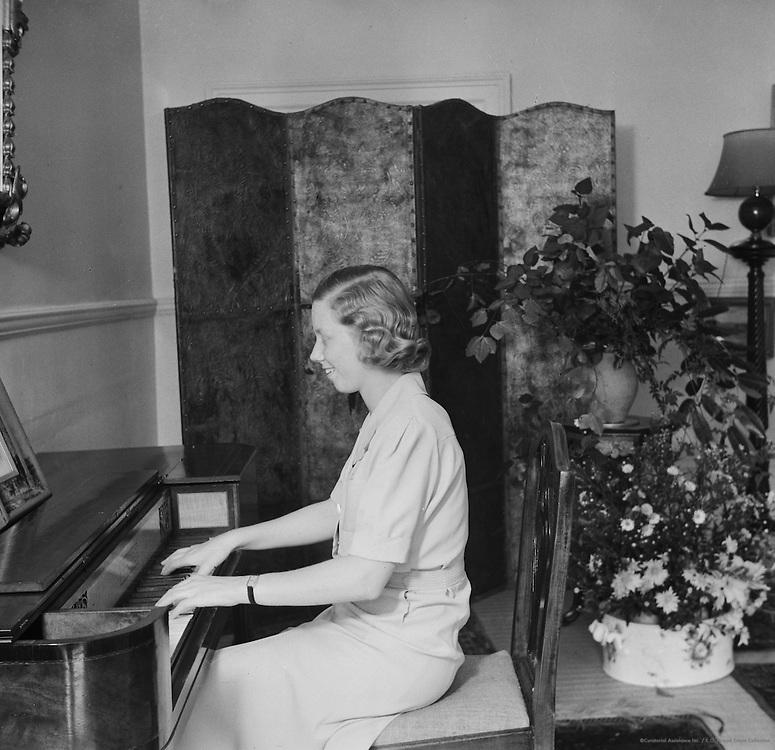 Miss Rosemary Game, Australia, 1930