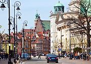 Krakowskie Przedmieście, Warszawa, Polska<br /> Krakowskie Przedmieście, Warsaw, Poland