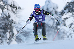 17.11.2013, Levi Black, Levi, FIN, FIS Ski Alpin Weltcup, Levi, Slalom, Herren, 1. Durchgang, im Bild Nolan Kasper (USA) // Nolan Kasper of the USA in action during 1st run of mens Slalom of FIS ski alpine world cup at the Levi Black course in Levi, Finland on 2013/11/17. EXPA Pictures © 2013, PhotoCredit: EXPA/ Gunn/ Takusagawa<br /> <br /> *****ATTENTION - OUT of GBR*****