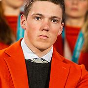 NLD/Den Haag/20180323 - Huldiging Olympische en Paralympische medaillewinnaars, Niels de Langen
