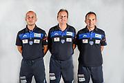 Giacomo Baioni, Federico Pasquini, Paolo Citrini<br /> Testine Busti Polo<br /> Banco di Sardegna Dinamo Sassari<br /> Olbia, 03/09/2017<br /> Foto L.Canu / Ciamillo-Castoria