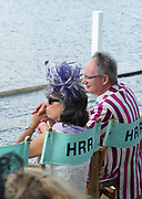 Henley-On-Thames, Berkshire, UK.,Saturday, 14.08.21,    2021 Henley Royal Regatta, Henley Reach, River Thames, Thames Valley,  [ Mandatory Credit © Peter Spurrier/Intersport Images], Hat, Hats at Henley,