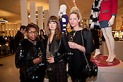 BEN BENJAMIN; FIONA STUART; CLAIRE STANSFIELD, The Nineties are Vintage. Concept Store, Rellik and Workit. The Wonder Room. Selfridges. Oxford St. London. 7 January 2010.