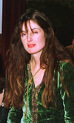 INDIA JANE BIRLEY daughter of Lady Annabel Goldsmith, at a reception in London on 29th October 1998.MLJ 155 WORO