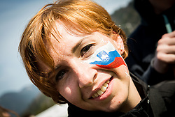 Fan of Slovenia after the Ski Flying Hill Men's Team Competition at Day 3 of FIS Ski Jumping World Cup Final 2017, on March 25, 2017 in Planica, Slovenia. Photo by Vid Ponikvar / Sportida