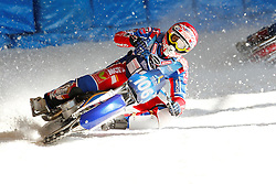 13.03.2016, Assen, BEL, FIM Eisspeedway Gladiators, Assen, im Bild Dimitry Koltakov (RUS) // during the Astana Expo FIM Ice Speedway Gladiators World Championship in Assen, Belgium on 2016/03/13. EXPA Pictures © 2016, PhotoCredit: EXPA/ Eibner-Pressefoto/ Stiefel<br /> <br /> *****ATTENTION - OUT of GER*****