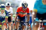 Vincenzo Nibali (ITA - Bahrain - Merida) during the Tour de France 2018, Stage 1, Noirmoutier -en-l'île - Fontenay-le-Comte (201km) on July 7th, 2018 - Photo Luca Bettini / BettiniPhoto / ProSportsImages / DPPI
