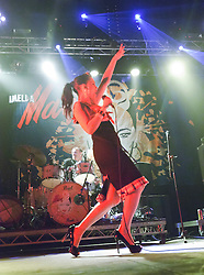 Imelda May plays the Red Bull Bedroom Jam Transmissions Stage..T in the Park on Friday 8th July 2011. T in the Park 2011 music festival takes place from 7-10th July 2011 in Balado, Fife, Scotland..©Pic : Michael Schofield.