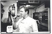 Gordon Ramsary, Gordon Ramsary's kitchen, Chelsea 2002© Copyright Photograph by Dafydd Jones 66 Stockwell Park Rd. London SW9 0DA Tel 020 7733 0108 www.dafjones.com