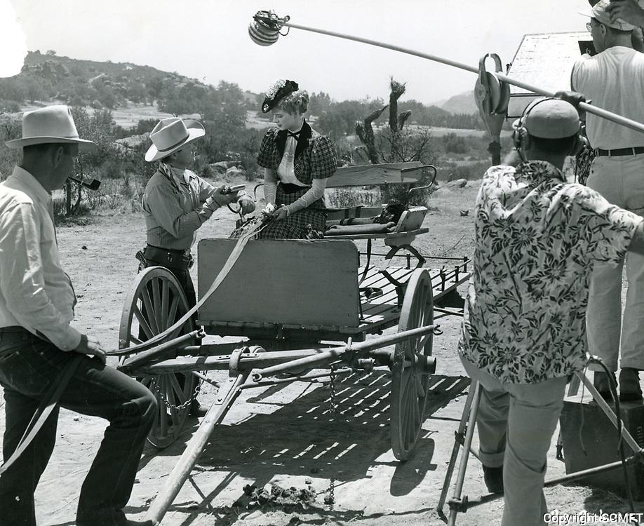 1942 Filming at RKO Studios