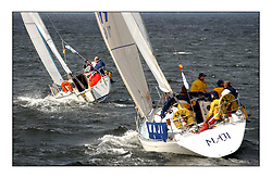 Yachting- The second start of the Bell Lawrie Scottish series 2002 at Inverkip racing to Tarbert Loch Fyne where racing continues over the weekend.<br /><br />Maji Sigma 292 GBR1611T Class 7<br /><br />Pics Marc Turner / PFM