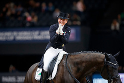 SCHNEIDER Dorothee (GER), Sammy Davis Jr.<br /> Paris - FEI World Cup Finals 2018<br /> FEI World Cup Dressage Freestyle/Kür<br /> www.sportfotos-lafrentz.de/Stefan Lafrentz<br /> 14. April 2018
