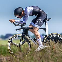EMMEN (NED) June 16: <br />CYCLING <br />Dutch Nationals Time Trail men U23 <br />Lars Looohuis