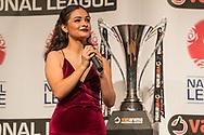 Jaina Brock during the National League Gala Awards at Celtic Manor Resort, Newport, United Kingdom on 8 June 2019.