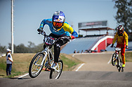 #100 (PAJON Mariana) COL  at Round 9 of the 2019 UCI BMX Supercross World Cup in Santiago del Estero, Argentina