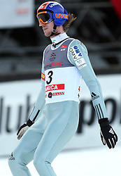 Primoz Pikl of Slovenia at e.on Ruhrgas FIS World Cup Ski Jumping on K215 ski flying hill, on March 14, 2008 in Planica, Slovenia . (Photo by Vid Ponikvar / Sportal Images)./ Sportida)