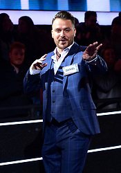 Daniel O'Reilly enters the house during the Celebrity Big Brother Men's Launch held at Elstree Studios in Borehamwood, Hertfordshire.