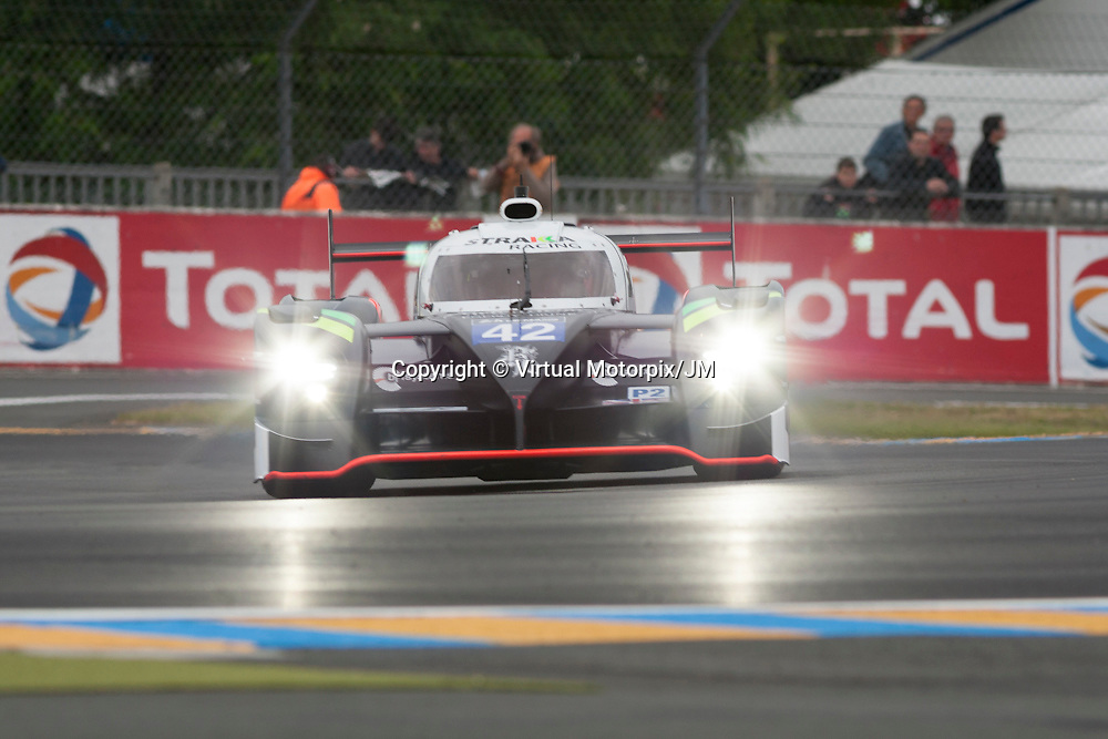 #42 Strakka-Dome S103 Nissan, Strakka Racing driven by Nick Leventis, Danny Watts, Jonny Kane,<br /> Le Mans 24hr 2015, Test Day