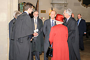 Oxford, GREAT BRITAIN. Royal visit to Magdalen College, by Her Majesty the Queen, Royal Highness the Duke of Edinburgh, Thursday 27/11/2008 [Mandatory Credit Peter Spurrier]