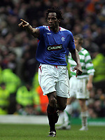 Photo: Paul Thomas.<br /> Glasgow Celtic v Glasgow Rangers. Bank of Scotland Scottish Premier League. 11/03/2007.<br /> <br /> Ego Ehiogu celebrates his goal.