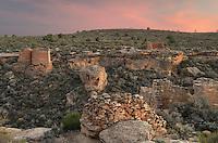 Pueblo ruins, Hovenweep National Monument, Utah
