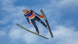 11.01.2014, Kulm, Bad Mitterndorf, AUT, FIS Ski Flug Weltcup, Bewerb, im Bild Kamil Stoch (POL) // Kamil Stoch (POL) during the FIS Ski Flying World Cup at the Kulm, Bad Mitterndorf, Austria on <br /> 2014/01/11, EXPA Pictures © 2014, PhotoCredit: EXPA/ JFK