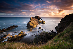 Sunrise at Bow Fiddle Rock (c) Ross Eaglesham| Edinburgh Elite media