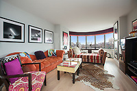Living Room at 330 East 38th Street