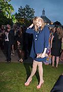 SOPHIE DAHL, Serpentine Summer party 2012 sponsored by Leon Max. Pavilion designed by Herzog & de Meuron and Ai Weiwei. Kensington Gardens. London. 26 June 2012.